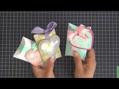 Make It Monday 102: Pillow Box Stamping & Assembly