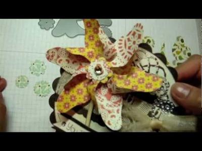 MFT: Perfect Pinwheel Card and Tutorial