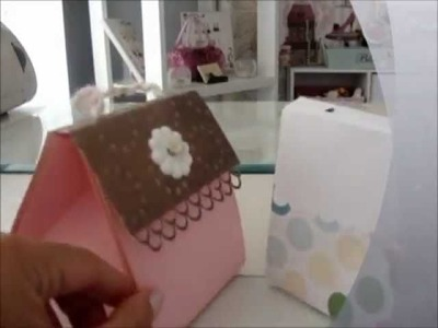Mini Purse made out of Paper