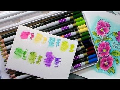 OMG! Colored Pencil Expose! {Prima & Spectrum Noir!}