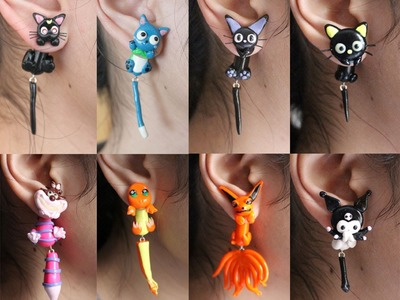 Polymer Clay Earrings Update