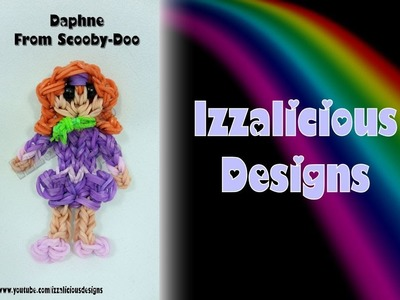 Rainbow Loom Daphne from Scooby-Doo Action Figure.Charm - Gomitas