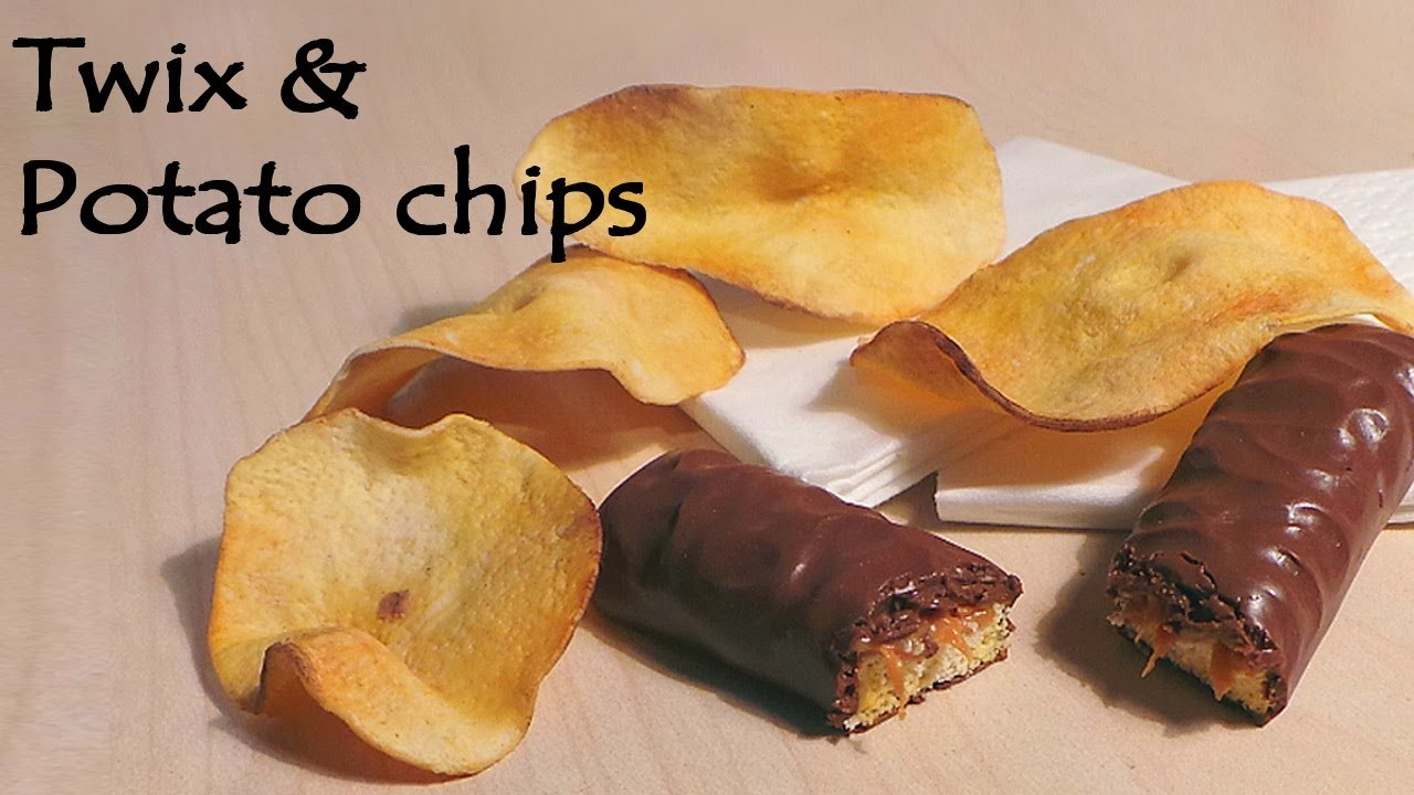 'Realistic' Polymer clay Twix & Potato Chips Tutorial