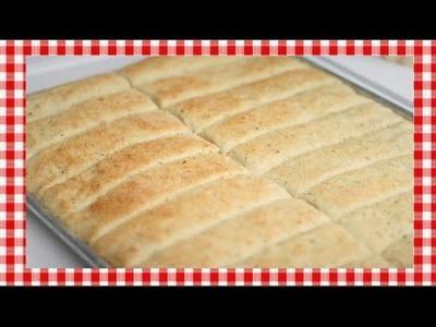 Restaurant Style Bread Sticks Recipe ~ Noreen's Kitchen