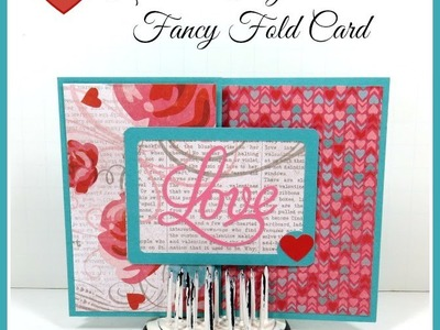 S Fold Valentine Card Artbooking Cricut Cartridge