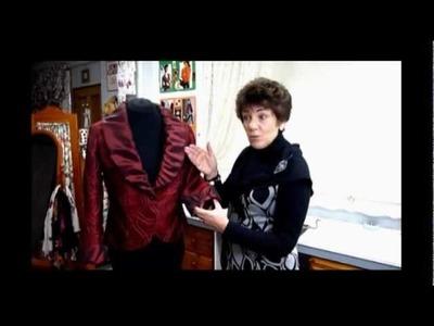Sewing McCalls 5527 Jacket Pattern - Formal Jacket.mpg