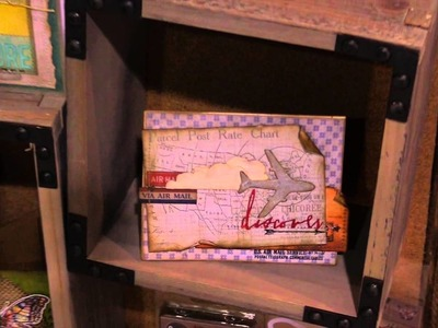 Tim Holtz -  Sizzix -  New For CHA 2015