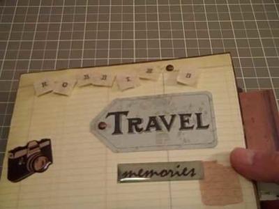 Travel Paper Bag Mini Album