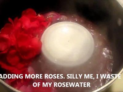 TUTORIAL ON MAKING ROSE WATER
