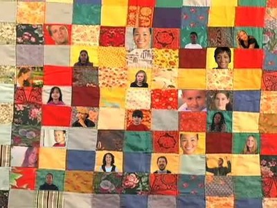 Two of a Kind: We Are a Patchwork Quilt