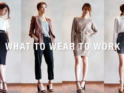 WHAT TO WEAR TO WORK | OFFICE WEAR