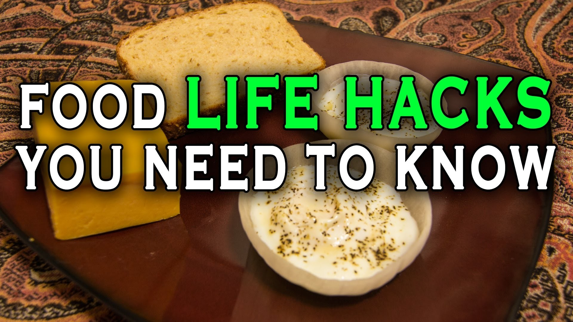 10 Incredible Food Life Hacks you need to know.