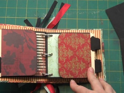 3-Ring Mini Scrap Book Flap Pages
