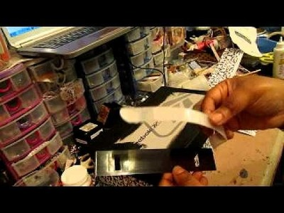 Altered shoe box tutorial