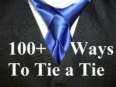 Animated How to Tie a Necktie Merovingian Knot for your Necktie aka Ediety Knot - How to Tie a Tie