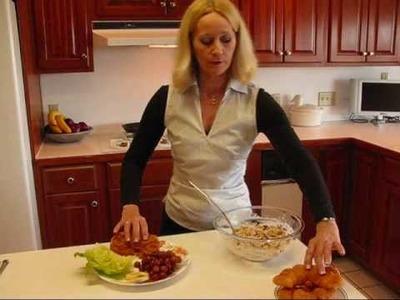 Betty's Elegant Restaurant Chicken Salad Sandwiches