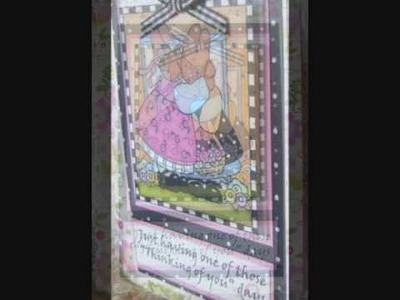 Card Making With Rubber Stamps video 9