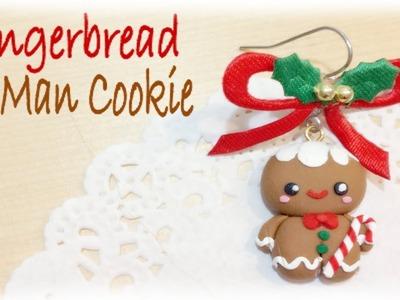 Christmas Gingerbread Man Polymer Clay Tutorial