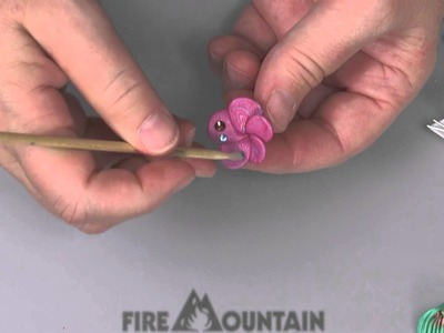 Creating a Sparkle Flower with Polymer Clay