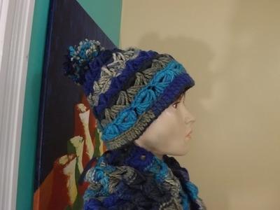 Crochet Gorro Con Punto Peruano