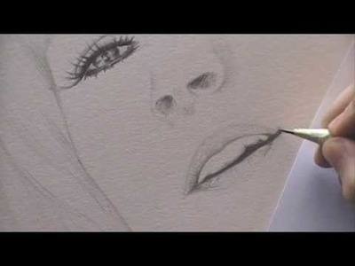Drawing a Portrait - 2.Nose & Mouth