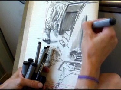 Faber-Castell: On the go with PITT artist pens