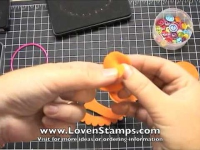Fast & Fresh Fleece Flowers: Meg's Stamping 101