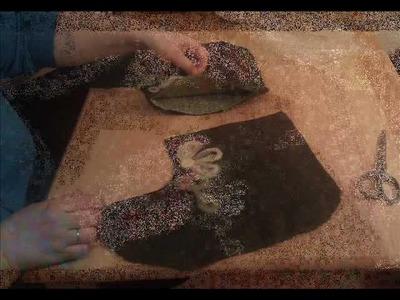 Felt boots tutorial
