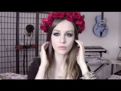 Flower Crown, Rose Halo Tutorial