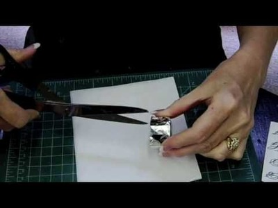 Glass Wafer Initial Pendants by Ronda Hillis @ HHH Enterprises