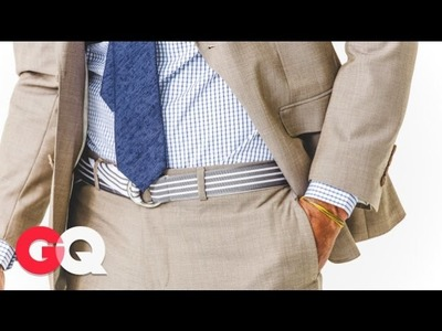 GQ Rules: The Belt Is Back - Jim Moore GQ - GQ Rules