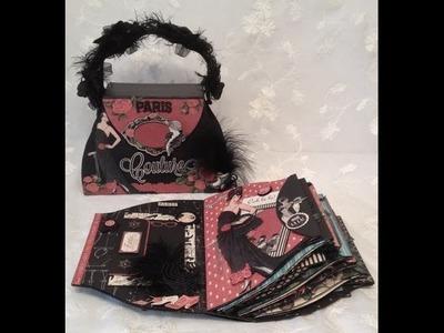 Graphic 45 Couture purse mini album