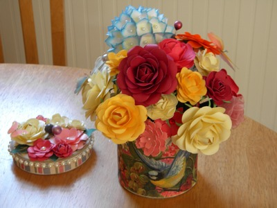 Handmade flowers for Mothers Day Bouquet gift