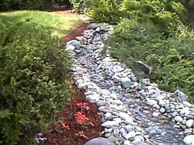 How to build a garden stream