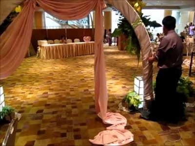 How to Build a Wedding Arch
