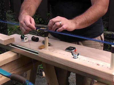 How to Make a Continuous Loop String with the One Arm Jig Part 1