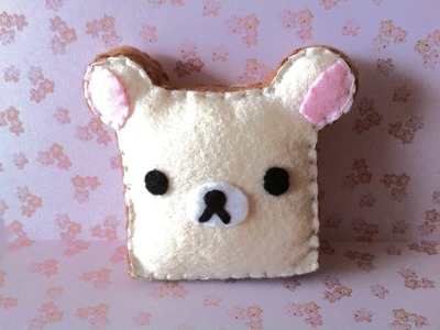 How to Make a Cute Rilakkuma Toast Plushie