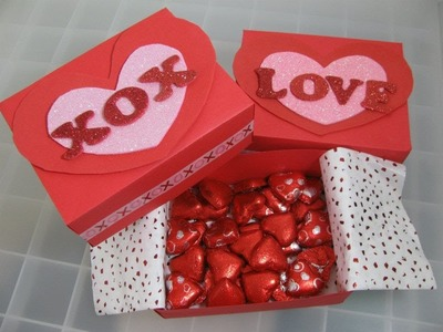How To Make A Gift Box (Valentine's Day.Mother's Day)