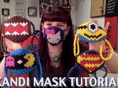 How to make a Kandi Mask (Tutorial)