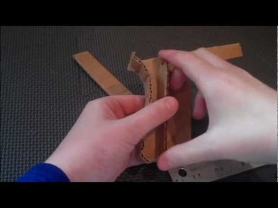 How to Make a Paper. Cardboard Pistol: Glock 18. 17 (tutorial) part 1 of 2