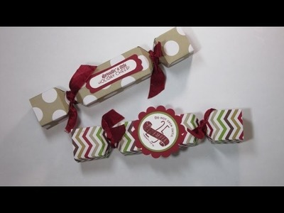How to Make a Treat box using Stampin' Up!'s Envelope Punch Board