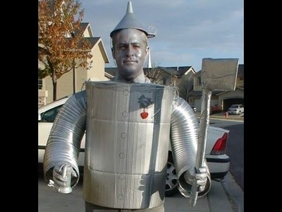 How to make a Wizard of Oz Tin Man costume