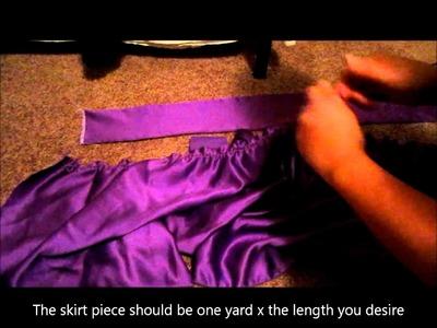 How to make an Obi Skirt