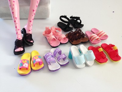 How to make Doll Shoes 1