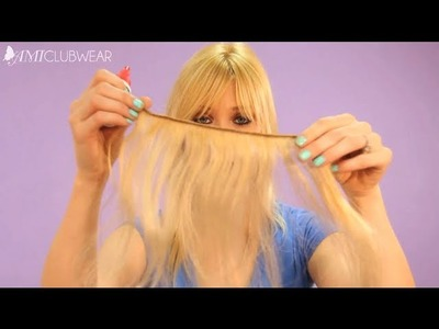 How to Make Halo Hair Extensions