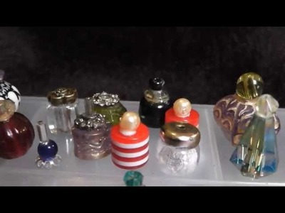 How to make perfume bottles - Dolls house Minimakes