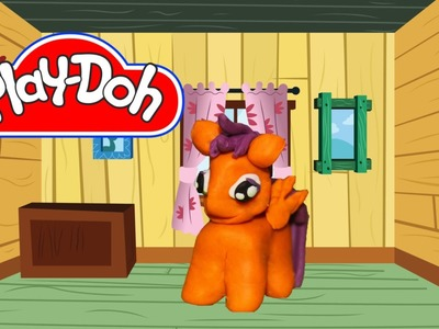 How to make Play Doh Scootaloo My Little Pony
