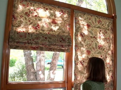 How to Make Roman Shades Using Iron-on-Roman Rib Tape