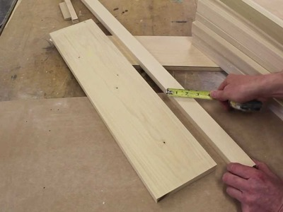 How to make wooden bookcase shelves by Jon Peters