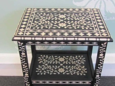 How To Stencil Furniture with Benjamin Moore Paint